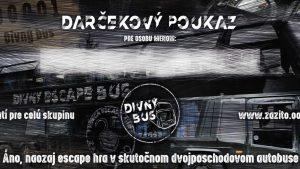 Darčekový poukaz escape room - divný bus | zazito.ooo