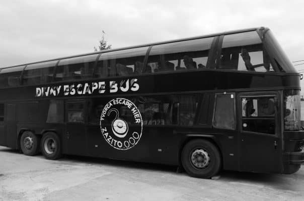 EVENTY A TEAMBUILDING - escape room Bratislava - Divný bus | zazito.ooo