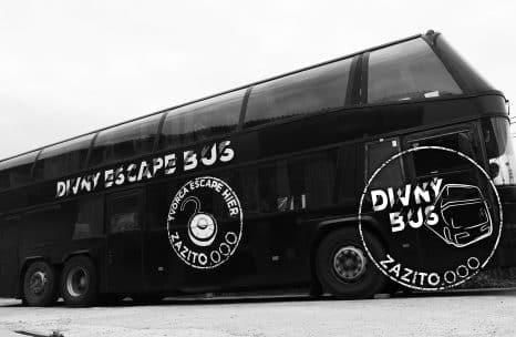 Mestská hra, úniková hra Bratislava - Divný bus | Zazito.ooo